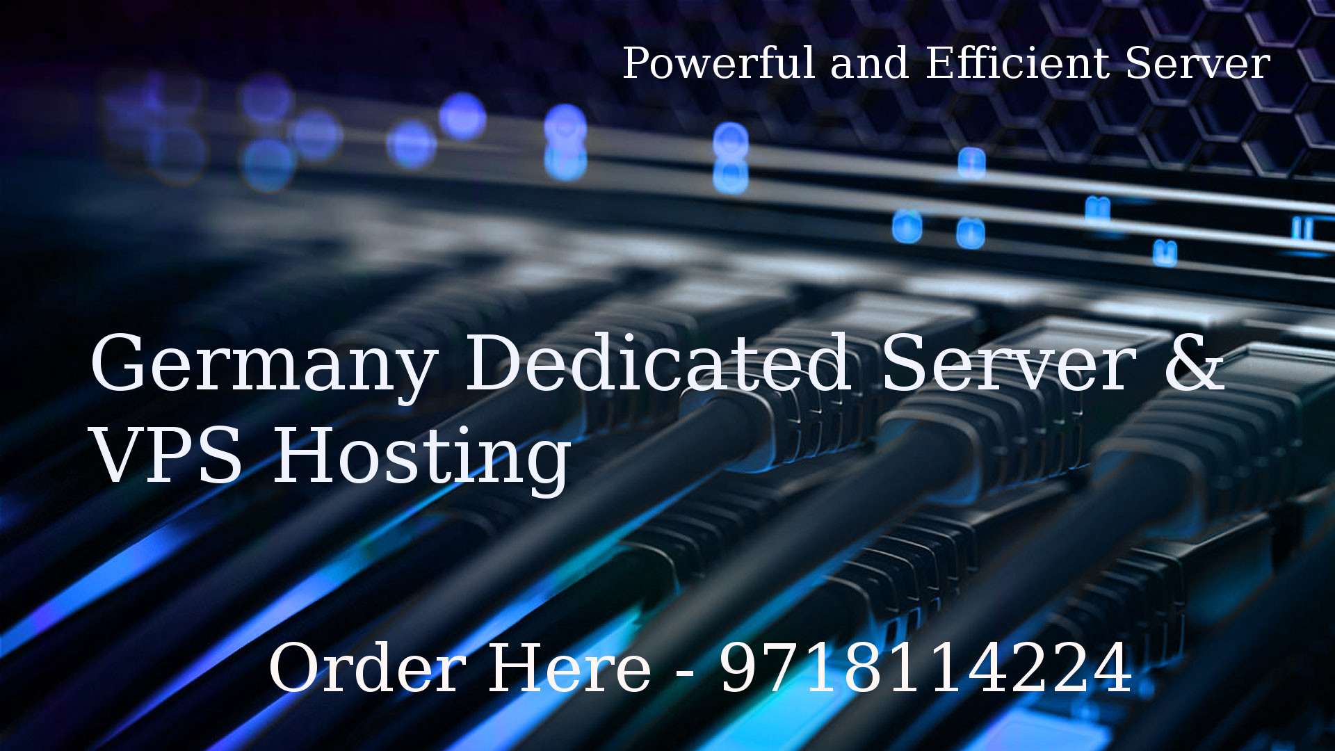 Germany Dedicated Server and VPS Hosting