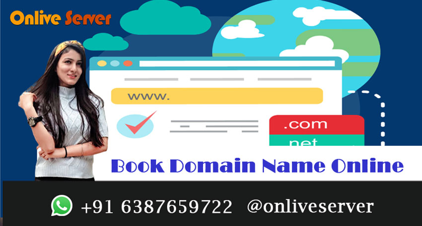 Book Domain Name Online